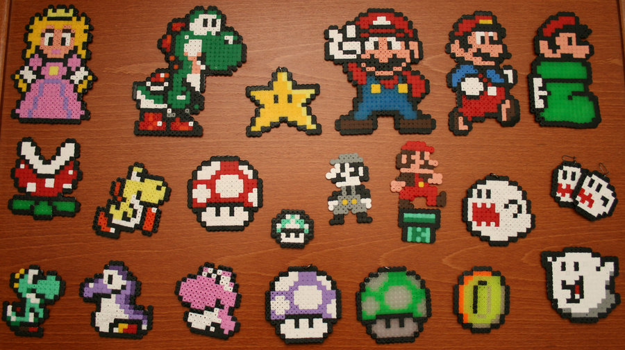 Hama_bead_Super_Mario_by_mariville
