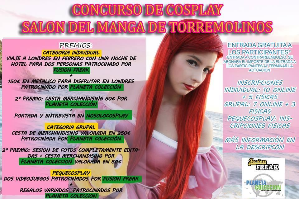 premios concurso cosplay