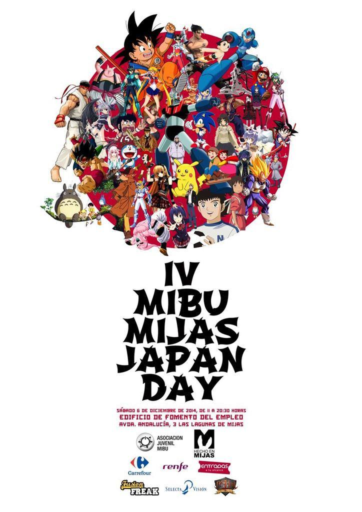 cartel 4 Mibu Mijas Japan Day