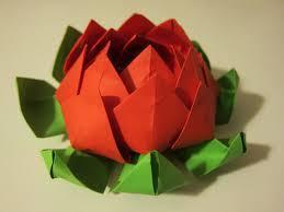 Flor de Loto de Papel