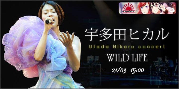 concierto Utada Hiraku