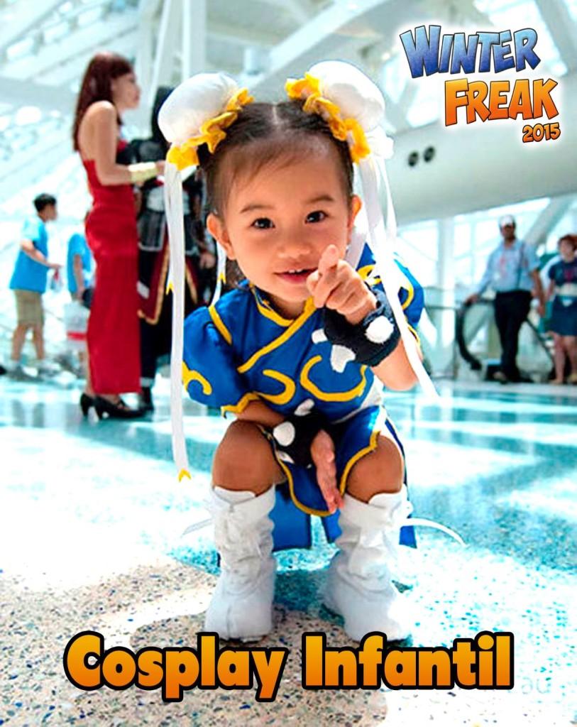 pasarela cosplay infantil