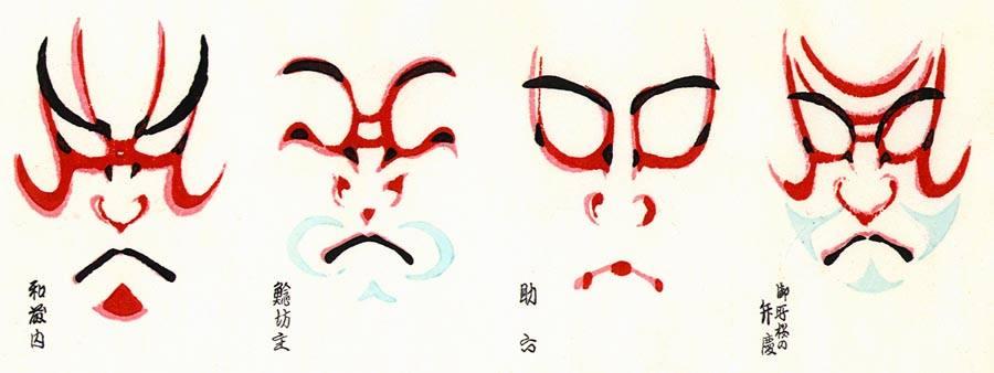 taller mascara kabuki