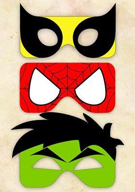 taller mascara superheroes
