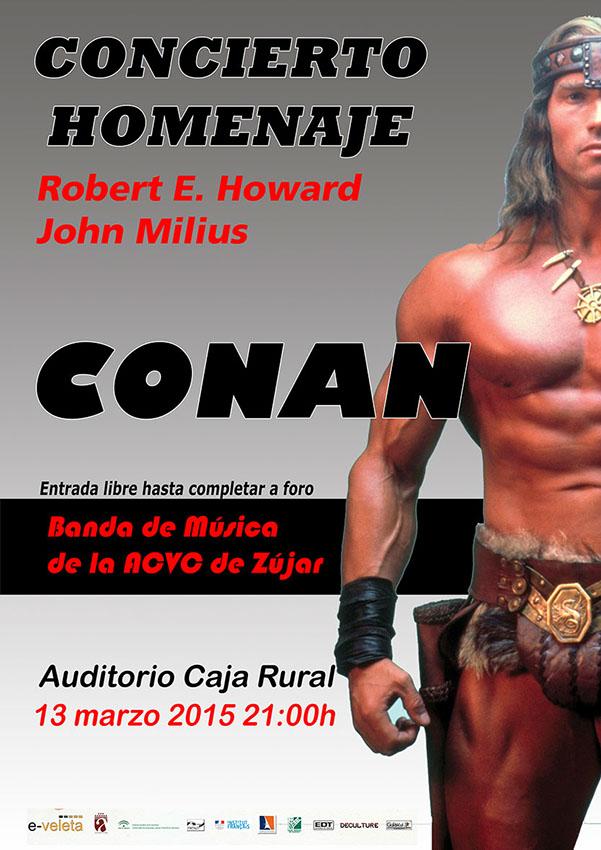 concierto homenaje Conan