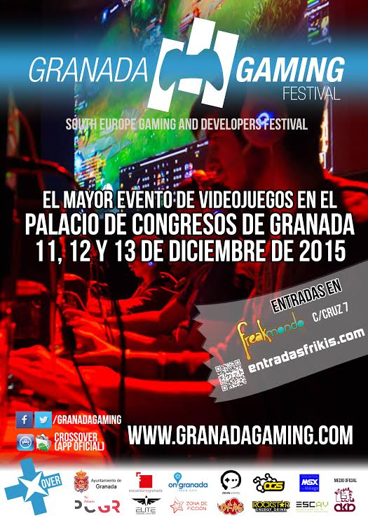 Cartel Granada Gaming Festival 2015