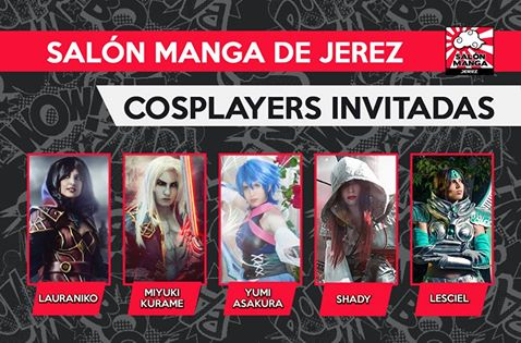 cosplayers invitados